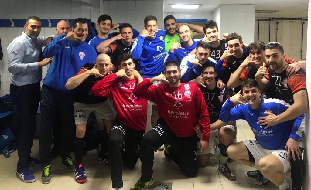 Triunfo balsámico para el Recoletas Atlético Valladolid