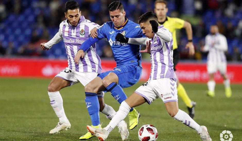 Ángel remata al Real Valladolid en el descuento
