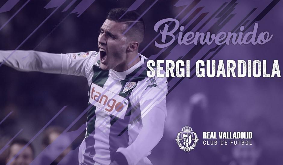 Sergi Guardiola ficha por el Real Valladolid hasta 2023