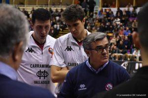 Paco García en un encuentro de esta temporada