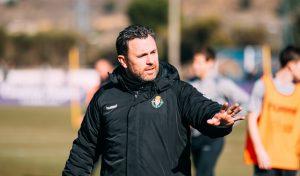 Sergio González en un entrenamiento
