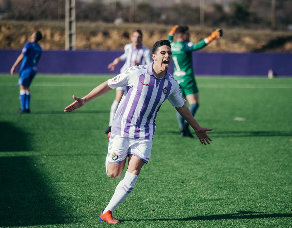 Miguel da la victoria al Real Valladolid B