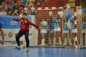 César Pérez en un partido con el Recoletas Atlético Valladolid