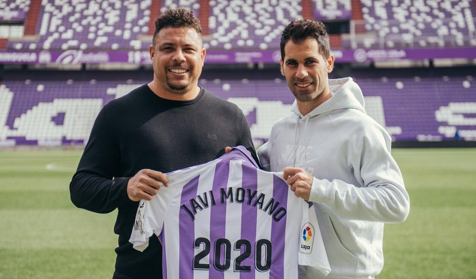 Moyano renueva un año más con el Real Valladolid