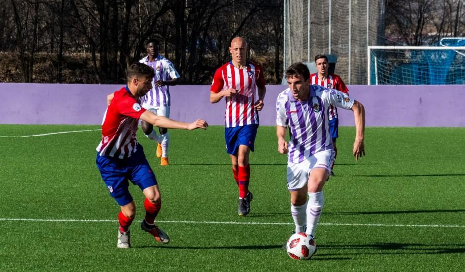 El Real Valladolid B empata ante el colíder