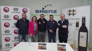 Rueda de prensa en las instalaciones de Sáenz