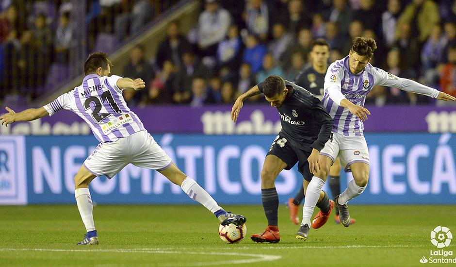 Un Real Madrid de paseo vence en Zorrilla 1-4