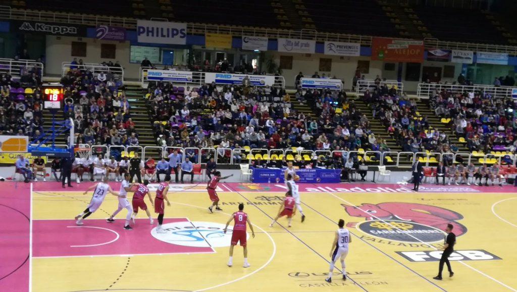 Melilla Baloncesto asalta Pisuerga