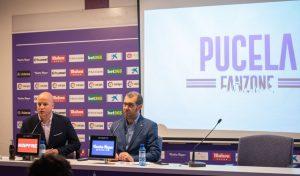 David Espinar y Matthieu Fenaert en la rueda de prensa