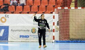 Lourdes Guerra en un partido de esta temporada