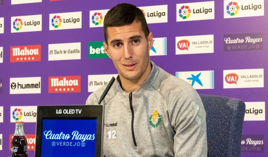 Sergi Guardiola en la rueda de prensa