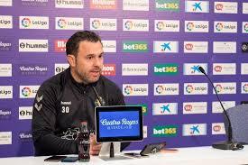 Sergio González en la previa de la rueda de prensa