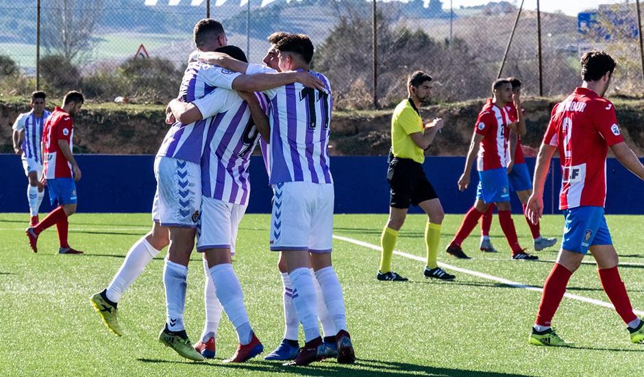Miguel rescata al Real Valladolid B