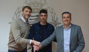 Waldo Rubio junto a Suárez y Miguel Ángel Gómez