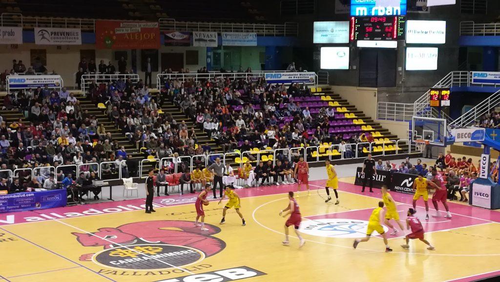 Último partido disputado en Pisuerga