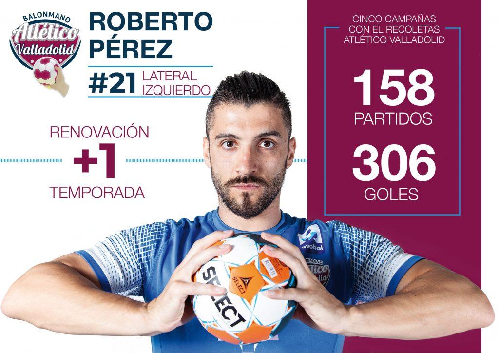 Roberto Pérez seguirá un año más en el Recoletas Atlético Valladolid
