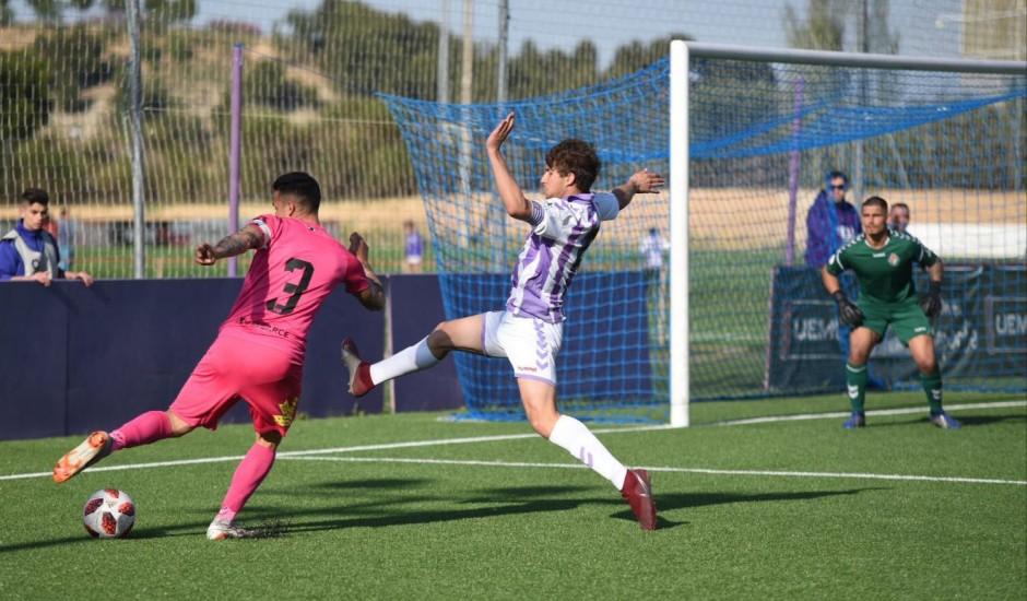 El Real Valladolid B cae ante la Ponfedarrina