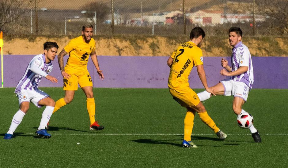 Real Valladolid B pierde en Burgos y todavía no certifica la permanencia