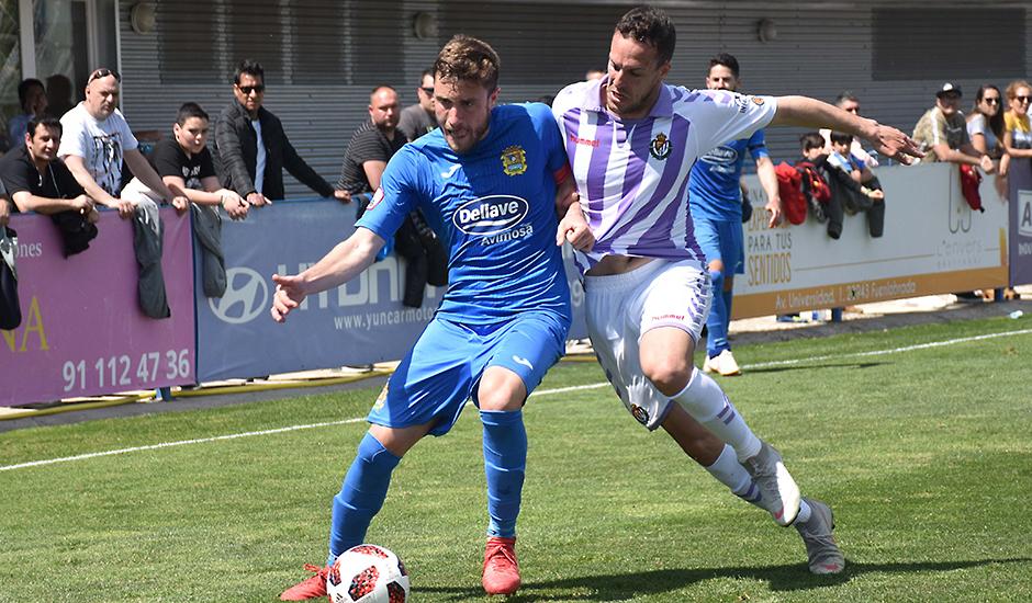 El Real Valladolid B cae ante el líder