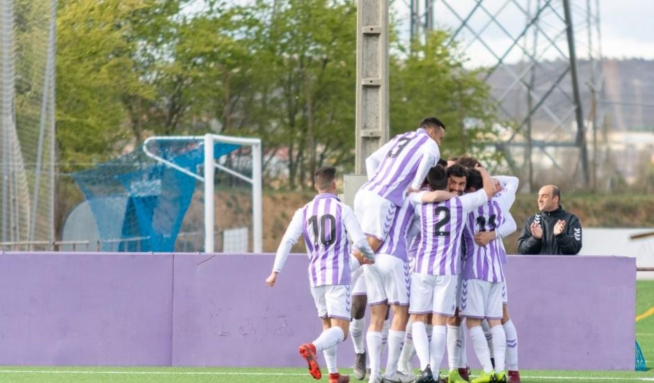 El Real Valladolid B se aferra a la permanencia