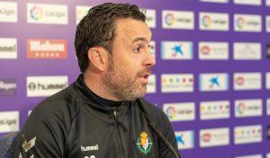 Sergio González en la rueda de prensa