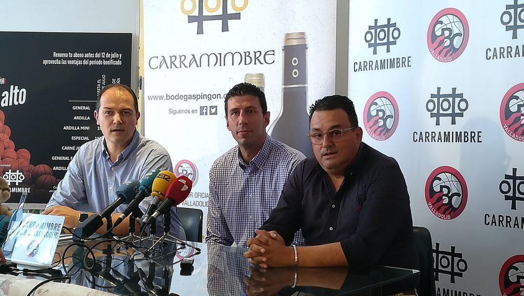 Sergio de la Fuente, dos años más en el Carramimbre CBCValladolid