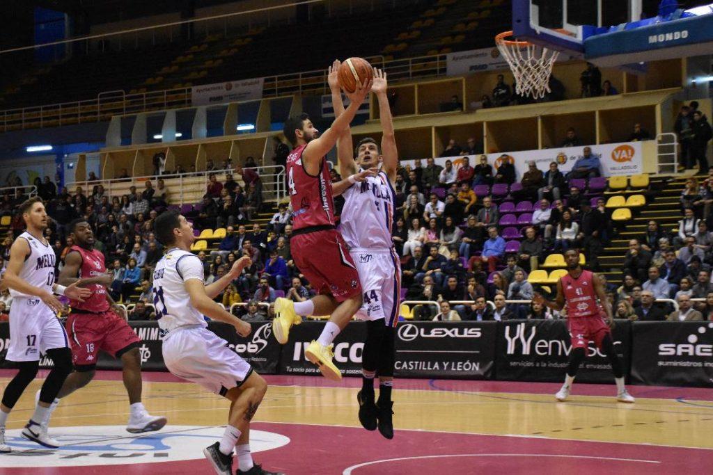 Daniel Astilleros en un partido de la pasada temporada