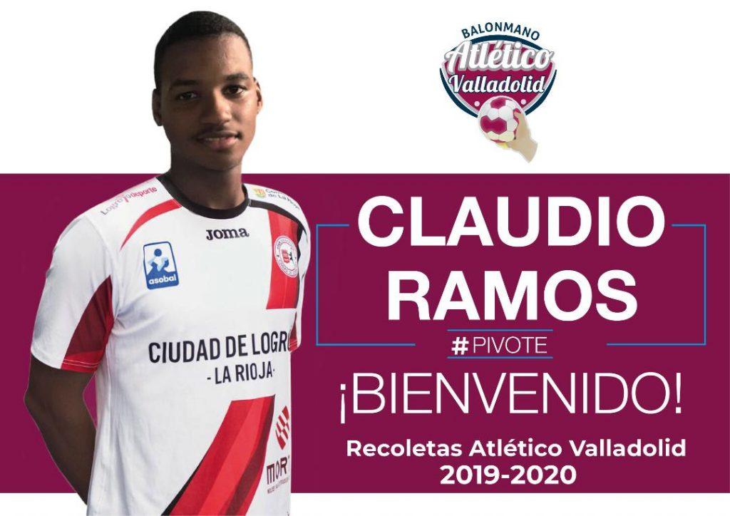 Claudio Ramos, nuevo fichaje del Recoletas Atlético Valladolid