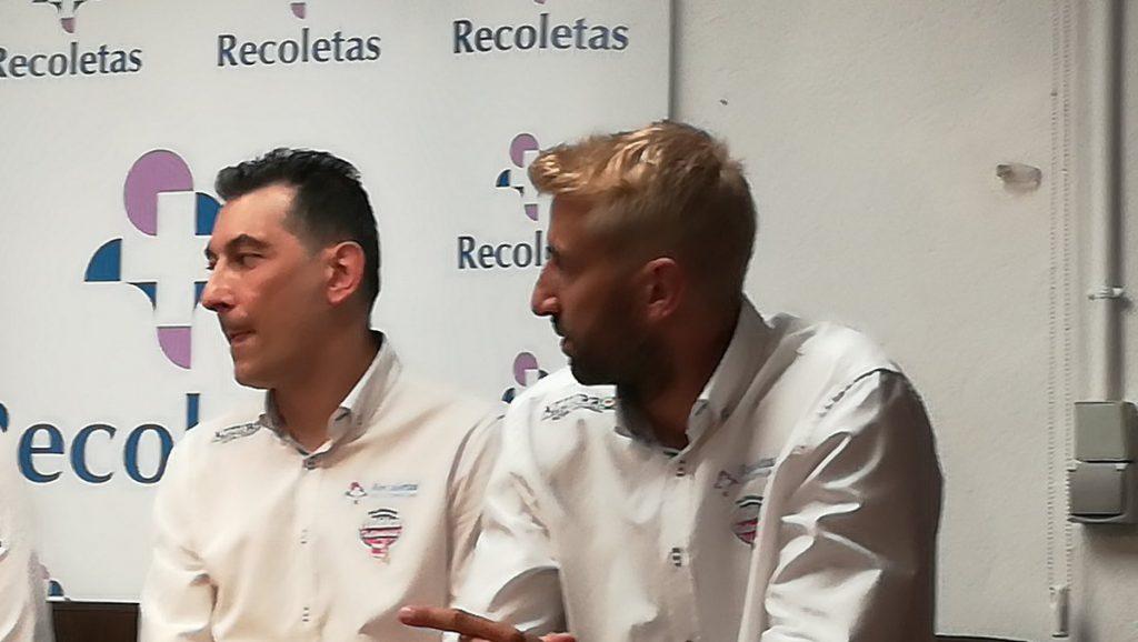 Óscar Ollero y Perales cogen el relevo en el Recoletas Atlético Valladolid