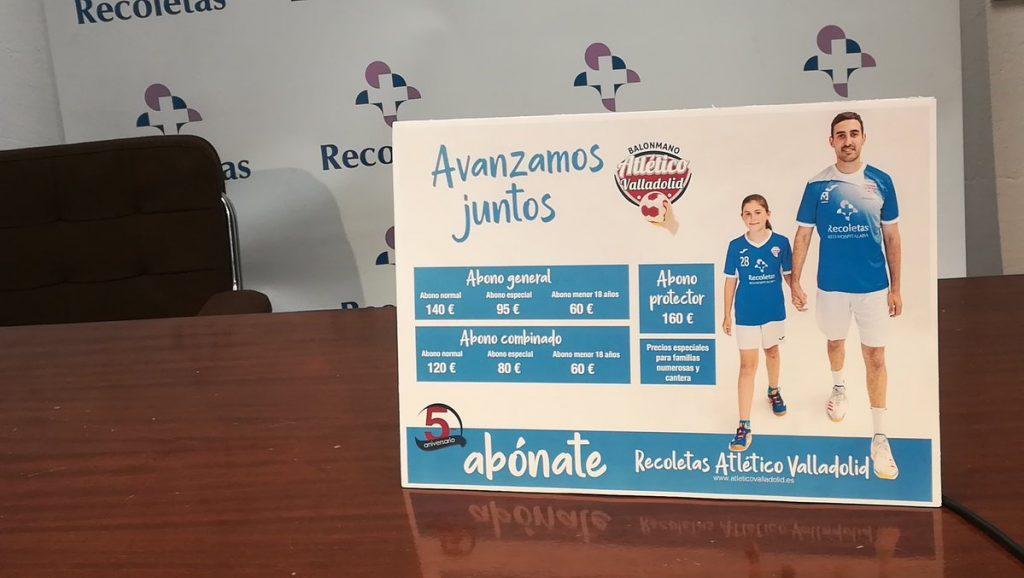 Campaña de abonados del Recoletas Atlético Valladolid