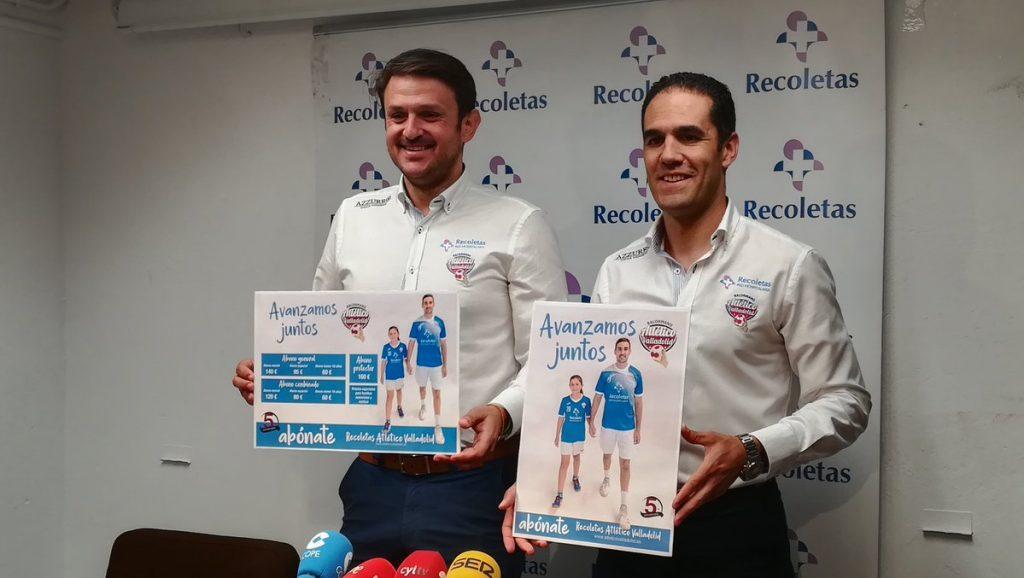 Enrique López junto al presidente Mario Arranz