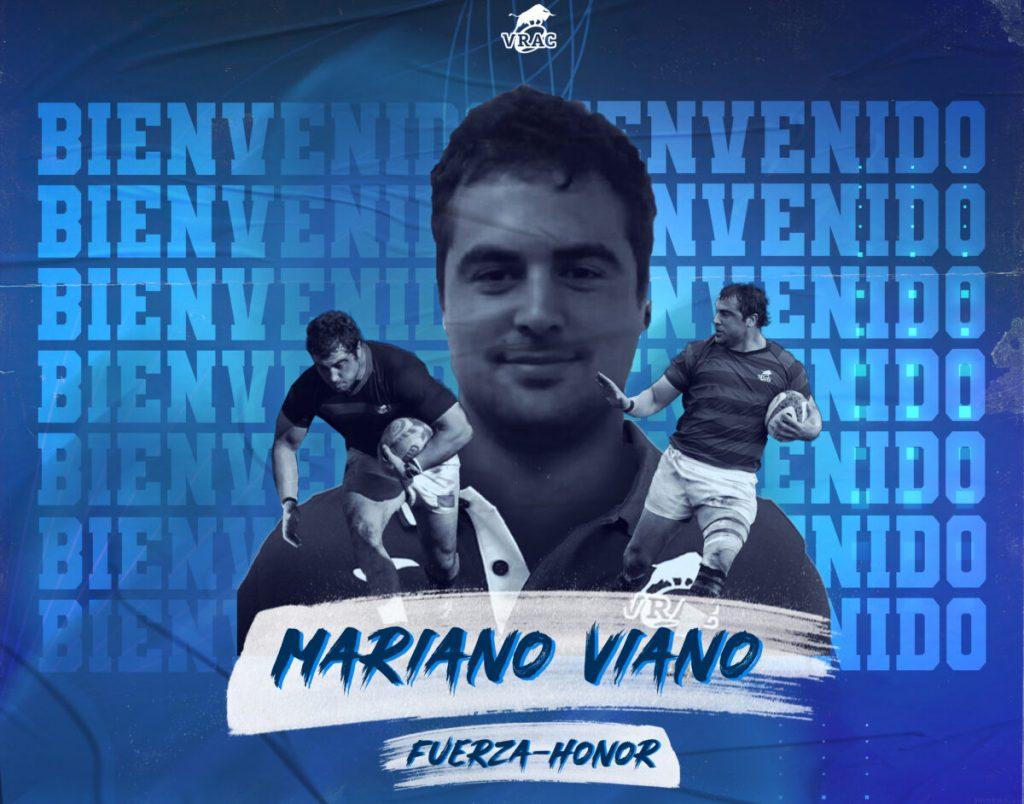 Mariano Viano, refuerzo para el tramo decisivo de la temporada