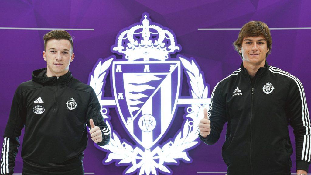 Slavy y Diego Moreno, más blanquivioleta