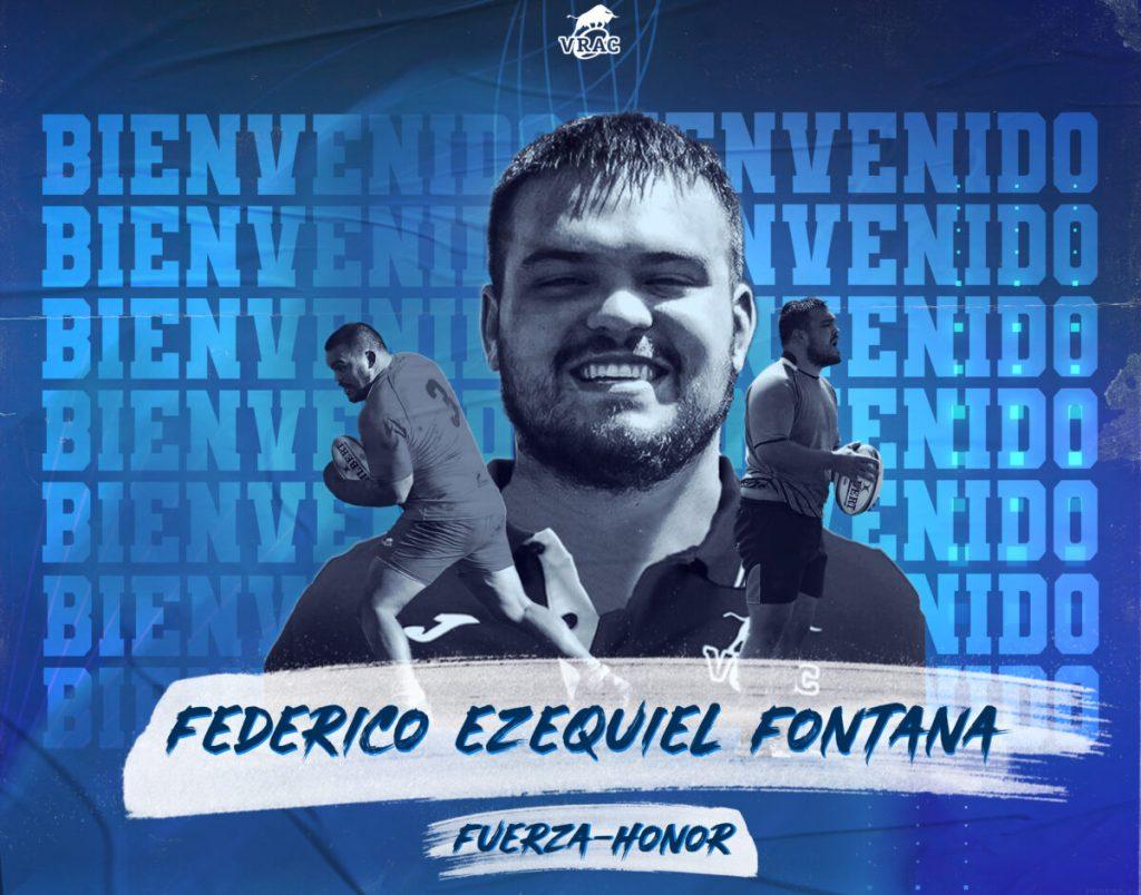 Fontana se incorpora al Vrac para los últimos partidos
