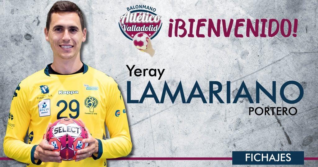 Yeray Lamariano cierra la portería del Recoletas Atlético Valladolid