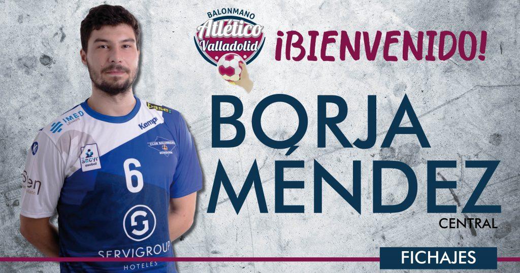 Borja Méndez refuerza la posición de central en el Recoletas Atlético Valladolid