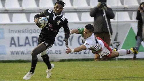 Jean Yves Zebango vuelve al Club de Rugby El Salvador
