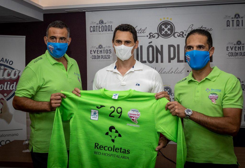 Yeray Lamariano, primera presentación en el Recoletas Atlético Valladolid 2021-22