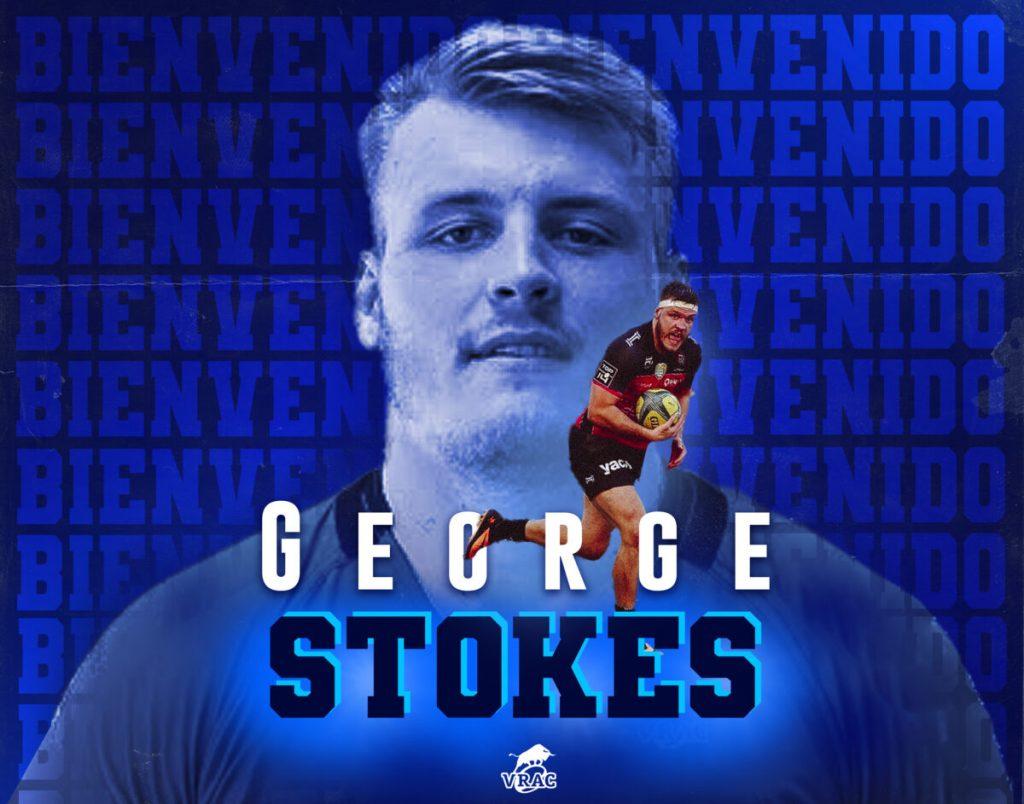 George Stokes, primer fichaje del VRAC 2021/2022