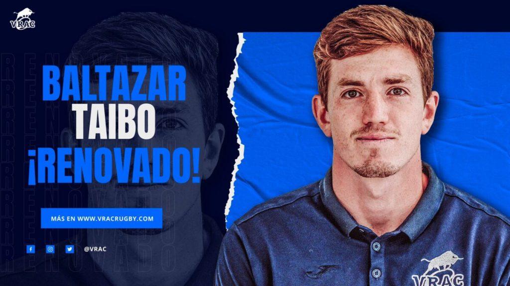 Baltazar Taibo renueva hasta 2023