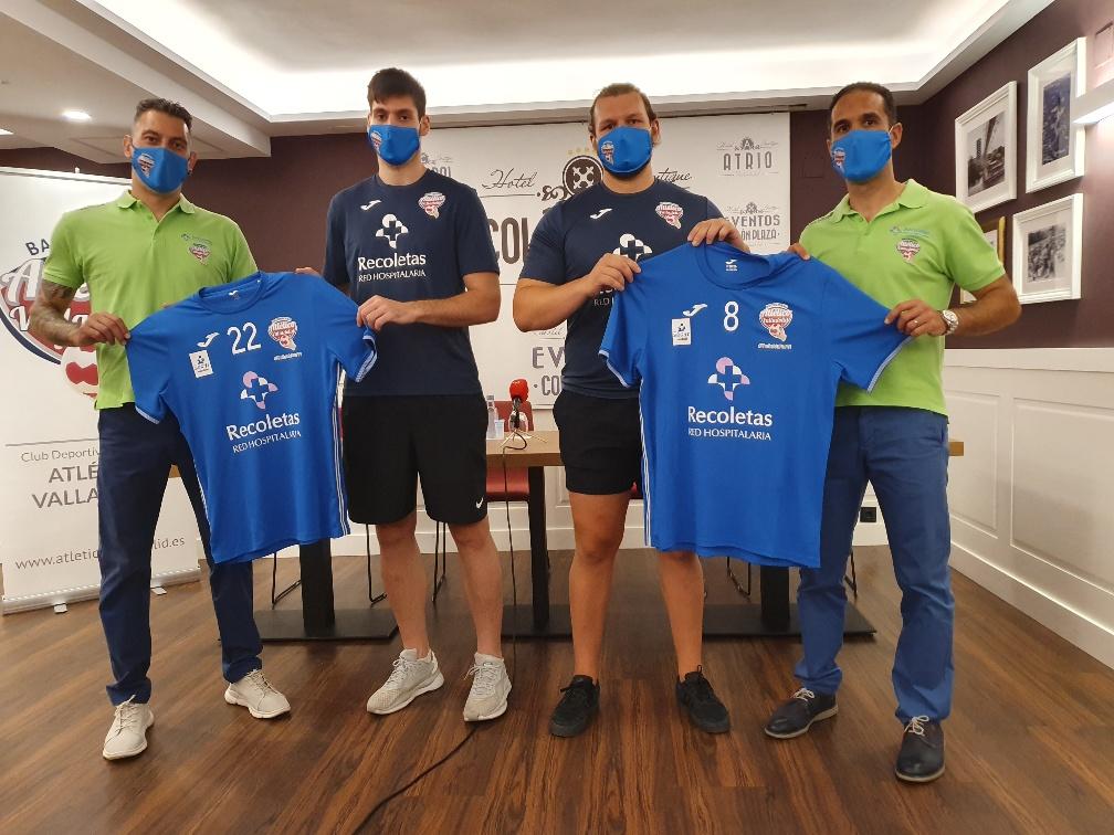 El Recoletas presenta a dos nuevos gladiadores azules, Dani Ramos y Robert Rosell